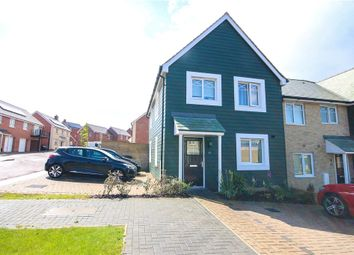 Thumbnail 3 bed end terrace house for sale in Walker Close, Church Crookham, Fleet