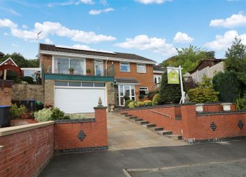 Thumbnail 4 bed detached house for sale in Woodstone Avenue, Endon, Stoke-On-Trent