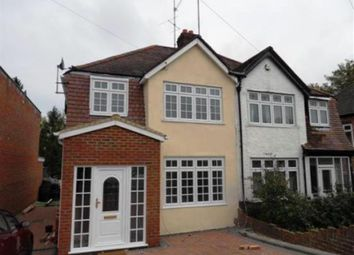 Thumbnail 3 bed semi-detached house to rent in Shepherds House Lane, Reading, Berkshire RG6, Reading,