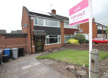 Thumbnail 3 bedroom semi-detached house for sale in Bent Lanes, Urmston, Manchester