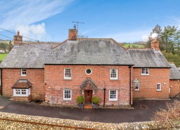 Thumbnail 4 bedroom detached house for sale in Stoke, Andover, Hampshire