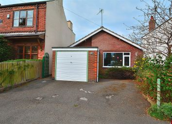 Thumbnail 2 bed detached bungalow for sale in Newdigate Street, West Hallam, Ilkeston