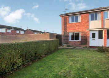Thumbnail 3 bed semi-detached house for sale in Paston Ridings, Paston, Peterborough