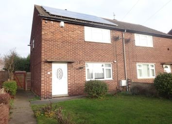 Thumbnail 2 bed semi-detached house to rent in Starbeck Road, Wakefield