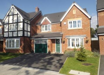 Thumbnail 4 bedroom detached house for sale in Redwood Gardens, Stockport, Greater Manchester
