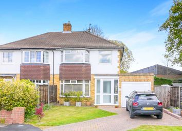 Thumbnail 3 bed semi-detached house for sale in Inglehurst, New Haw