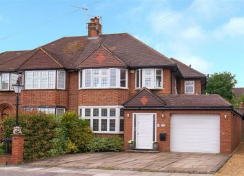 Thumbnail 4 bed semi-detached house for sale in Wolstonbury, Woodside Park, London