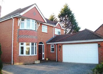 Thumbnail 5 bed detached house for sale in Spiers Close, Narborough, Leicester