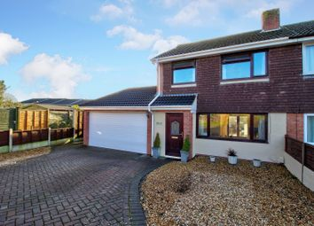 Thumbnail 3 bed semi-detached house for sale in Mizzymead Rise, Nailsea, Bristol