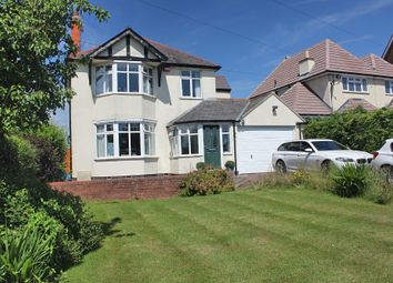 Thumbnail 4 bed detached house for sale in Uppingham Road, Thurnby, Leicester