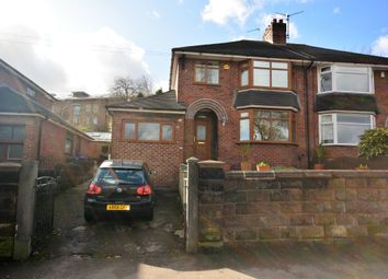 Thumbnail 3 bed semi-detached house for sale in Hartshill Road, Hartshill, Stoke-On-Trent