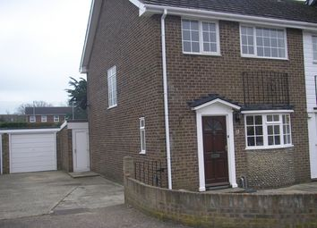 Thumbnail 3 bed semi-detached house to rent in St. Winifreds Close, Bognor Regis