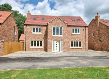 Thumbnail 5 bed detached house for sale in Croft Road, Upwell, Wisbech
