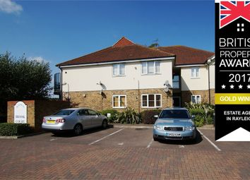 Thumbnail 2 bedroom flat to rent in Brook Court, High Road, Rayleigh, Essex