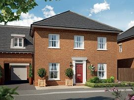 Thumbnail 4 bed semi-detached house for sale in The Clement At St James Park, Off Cam Drive, Ely