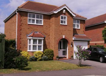 Thumbnail 4 bed detached house to rent in Rosedale Drive, Grantham
