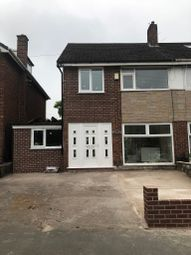 Thumbnail 3 bed semi-detached house to rent in Cardinal Street, Manchester