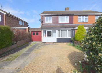 Thumbnail 3 bed semi-detached house for sale in Roche Gardens, Bletchley, Milton Keynes.