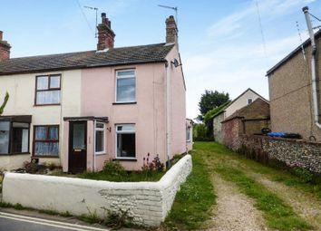 Thumbnail 3 bedroom terraced house for sale in Church Road, Kessingland, Lowestoft