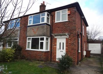 Thumbnail 3 bedroom semi-detached house to rent in Capesthorne Close, Hazel Grove, Stockport