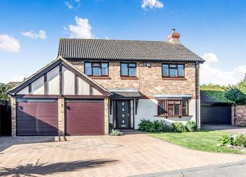 Thumbnail 4 bed detached house for sale in Cryselco Close, Kempston, Bedford, Bedfordshire