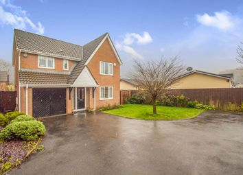 Thumbnail 4 bed detached house for sale in Heol Collen, Cardiff