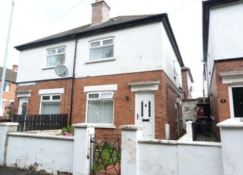 Thumbnail 2 bed semi-detached house to rent in Dunraven Gardens, Belfast