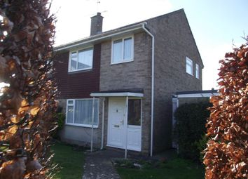 Thumbnail 3 bed semi-detached house for sale in Legion Close, Castle Park, Dorchester