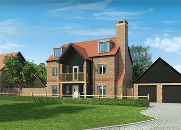 Thumbnail 5 bed detached house for sale in Andover Road, Weeke, Winchester