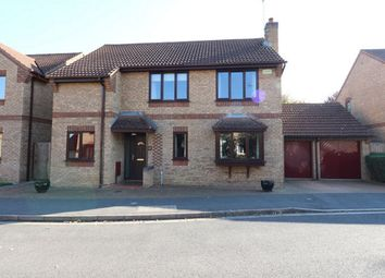 Thumbnail 4 bed detached house for sale in Woodcroft Close, Market Deeping, Lincolnshire