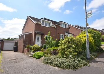 Thumbnail 2 bed semi-detached house to rent in Collins Road, Exeter