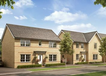"""Thumbnail 4 bedroom detached house for sale in """"Thornton"""" at Llantrisant Road, Capel Llanilltern, Cardiff"""