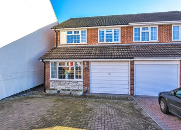 Thumbnail 4 bed semi-detached house for sale in Waterloo Road, Aldershot, Hampshire