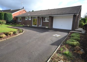 Thumbnail 3 bed detached bungalow for sale in Guernsey Drive, Newcastle-Under-Lyme