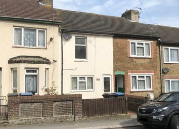 Thumbnail 2 bed terraced house for sale in 114 Coombe Valley Road, Dover, Kent