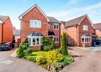 Thumbnail 4 bed detached house for sale in Strawberry Fields, Great Barford, Bedford