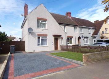 Thumbnail 3 bed semi-detached house for sale in Barford Avenue, Bedford, Bedfordshire