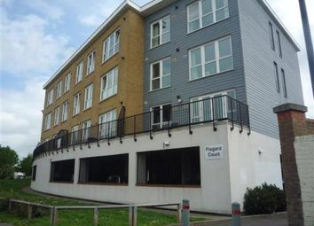 Thumbnail 2 bedroom flat for sale in Admirals Way, Gravesend