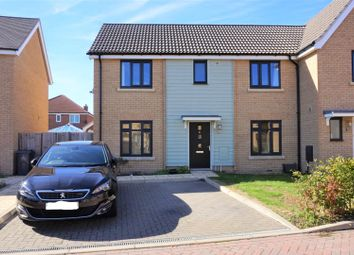 Thumbnail 3 bedroom semi-detached house for sale in Forest Grove, Swaffham