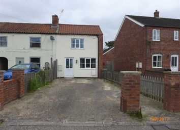 Thumbnail 2 bed end terrace house to rent in Willingham Road, Market Rasen