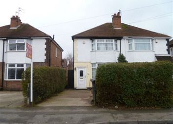 Thumbnail 2 bed semi-detached house to rent in Carrfield Avenue, Toton, Beeston, Nottingham