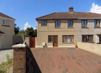 Thumbnail 3 bed semi-detached house for sale in 45 Fairway, Sandfields Estate, Port Talbot, Neath Port Talbot.