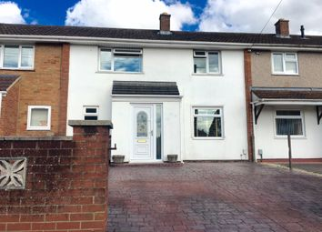 Thumbnail 3 bed terraced house for sale in Fairford Crescent, Swindon