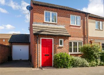 Thumbnail 3 bed semi-detached house for sale in Moir Close, Sileby, Loughborough, Leicestershire