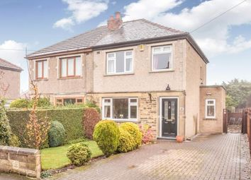 Thumbnail 3 bedroom semi-detached house for sale in Moorfield Crescent, Pudsey, Leeds, West Yorkshire