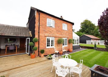 Thumbnail 4 bed cottage for sale in Hackford Road, Wicklewood, Wymondham