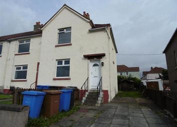 Thumbnail 3 bed flat for sale in Adams Avenue, Saltcoats