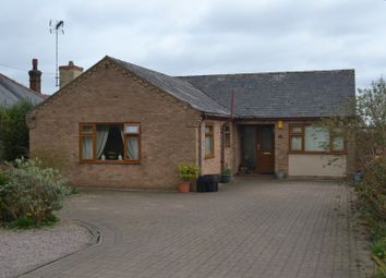 Thumbnail 3 bed detached bungalow for sale in School Road, Upwell