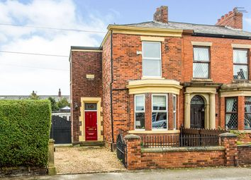 Thumbnail 4 bed semi-detached house for sale in Tulketh Avenue, Ashton-On-Ribble, Preston, Lancashire