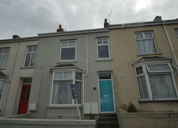 Thumbnail 3 bed terraced house to rent in Clifton Terrace, Falmouth